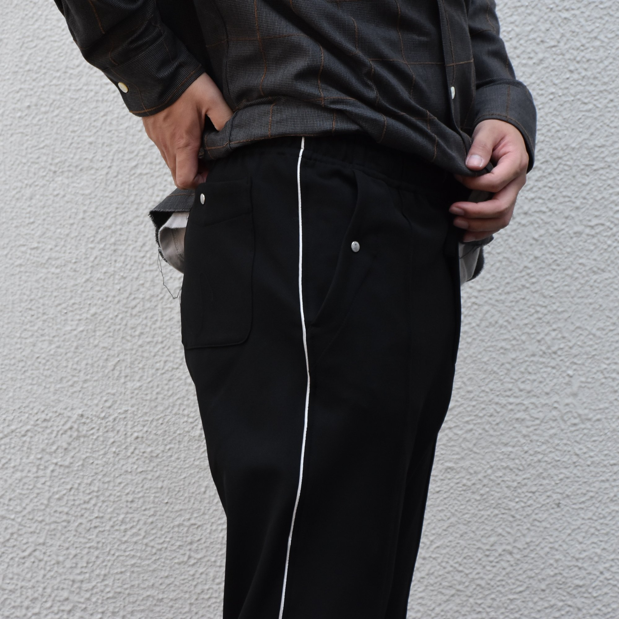 【2020】NEEDLES(ニードルス) Piping cowboy pants -BLACK- #HM-135(5)