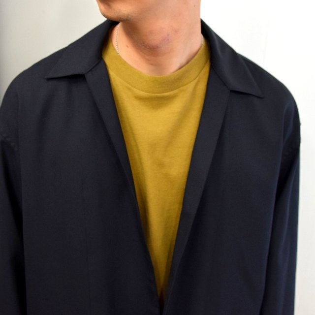 YOKE(ヨーク)/ JACKET CARDIGAN -BLACK- #YK20AW0137J(5)