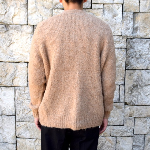 【2020】 AURALEE(オーラリー)/ ALPACA WOOL SUPER LIGHT KNIT BIG CARDIGAN -TOP BEIGE- #A20AC01AW(5)