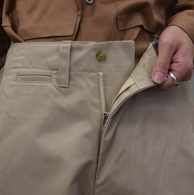 E. TAUTZ(イートウツ)/ FIELD TROUSER-BEIGE-  6311702009-BE(5)
