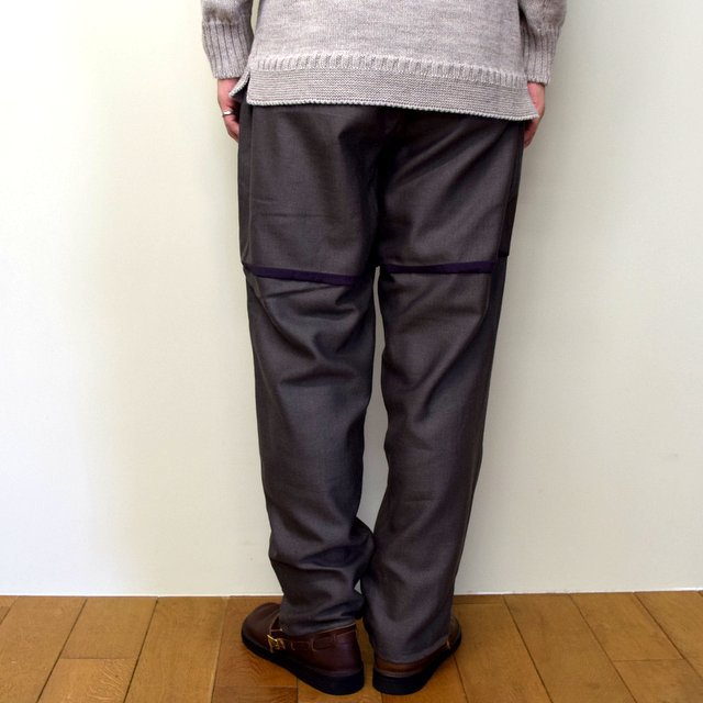 HOMELESS TAILOR(ホームレステイラー)/ HIP GUSSET PANTS -BROWN- #HTK-20F-010(5)