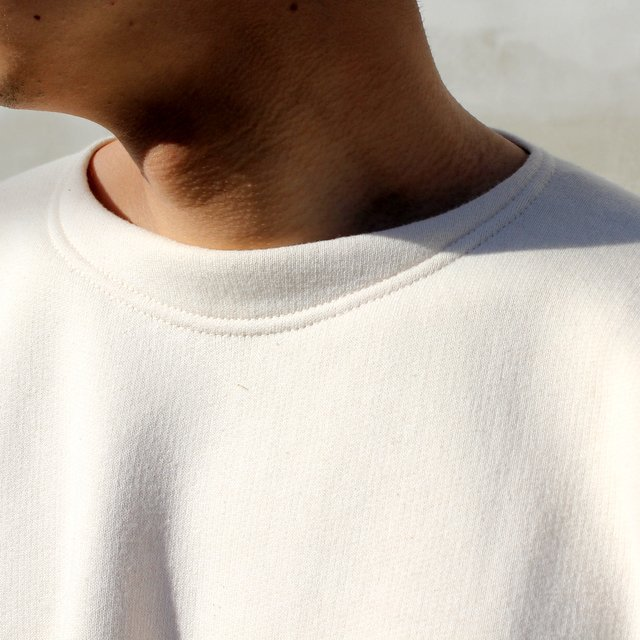OLDE HOMESTEADER(オールドホームステッダー)/ CREW NECK LONG SLEEVE -ECRU- #EQP001(5)