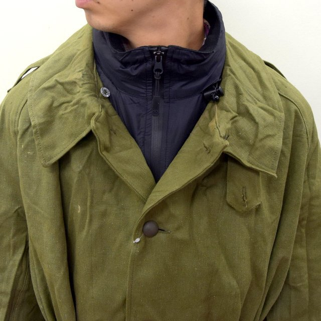 DEAD STOCK(デッドストック)/ FRENCH ARMY MOTORCYCLE COAT -OLIVE- #MILITARY300(5)