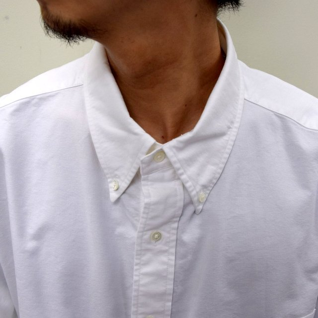 Graphpaper (グラフペーパー)/ OXFORD OVERSIZED B.D SHIRT -2色展開- #GM211-50113B(5)