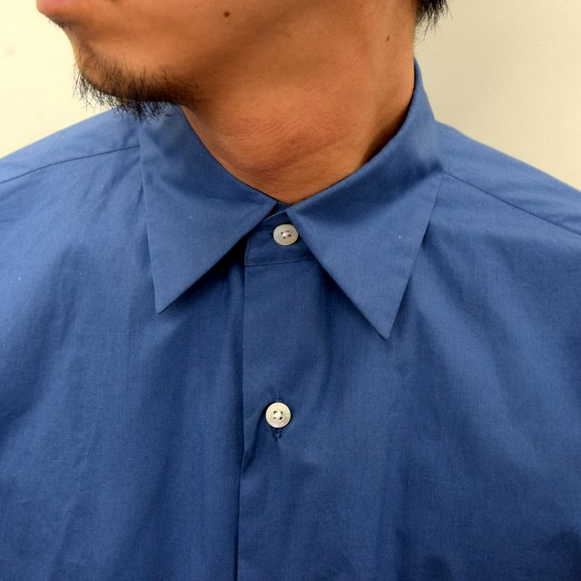 MARKAWARE(マーカウェア)/ COMFORT FIT SHIRT -CYAN BLUE- #A21A-07SH01C(5)
