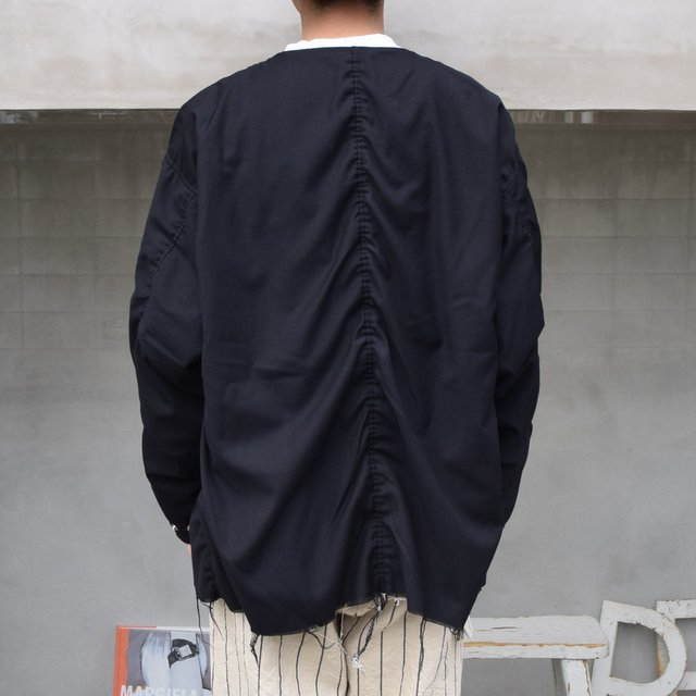 ISSUETHINGS(イシューシングス)/ NO COLLAR JACKET -2Color- #(5)