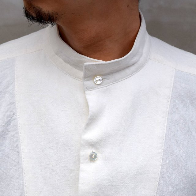 SUS-SOUS (シュス)/ DRESS SHIRTS -OFF WHITE- #05-SS-023-14(5)