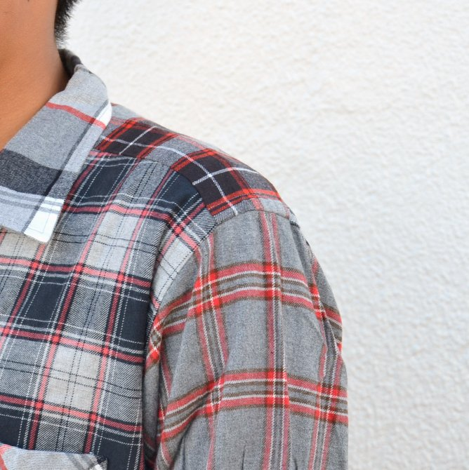 【40% off sale】 MOJITO(モヒート)/ ABSHINTH SHIRT Bar.2.0 -(99)GRAY- #2063-1106(6)