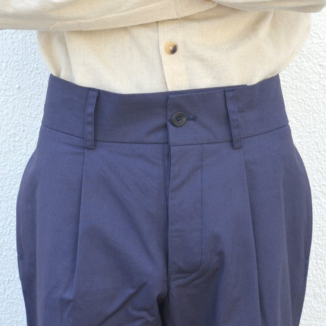【40% off sale】S.E.H KELLY(エス・イー・エイチ・ケリー)/ NORTHERN IRISH SHOWER-PROOF COTTON STANDARD PANT -(39)NAVY- #5113036(6)