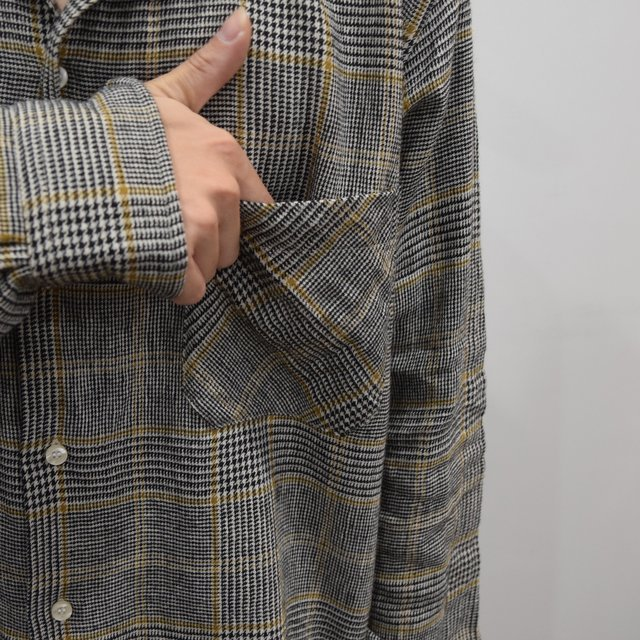 【30% OFF】 MOJITO(モヒート)/ ABSHINTH SHIRT Bar.2.0 -HOUNDS TOOTH (59)- #2094-1101(6)