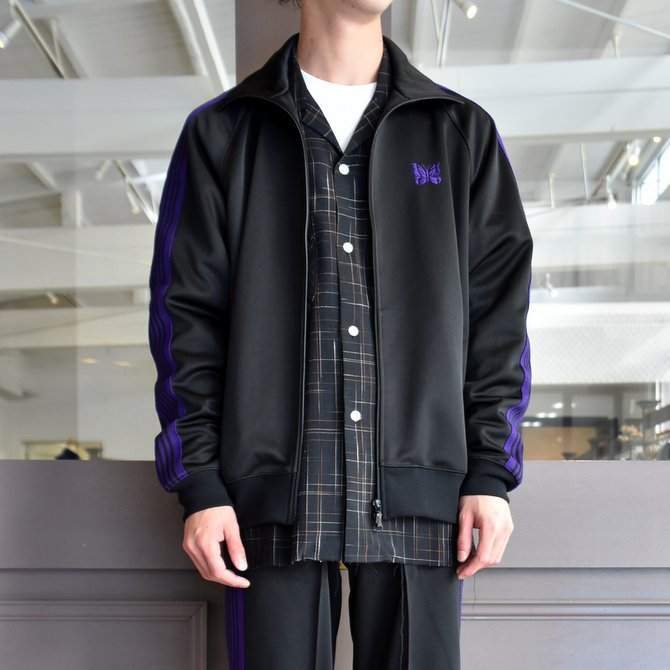 NEEDLES(ニードルス) TRACK JACKET-POLY SMOOTH-BLACK/#FK192(6)
