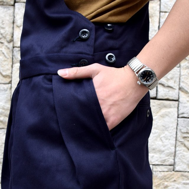 【2020 SS】NEAT(ニート)/ COTTON PIQUE ''OVERALL'' -NAVY- #20-01CPO-NV(6)