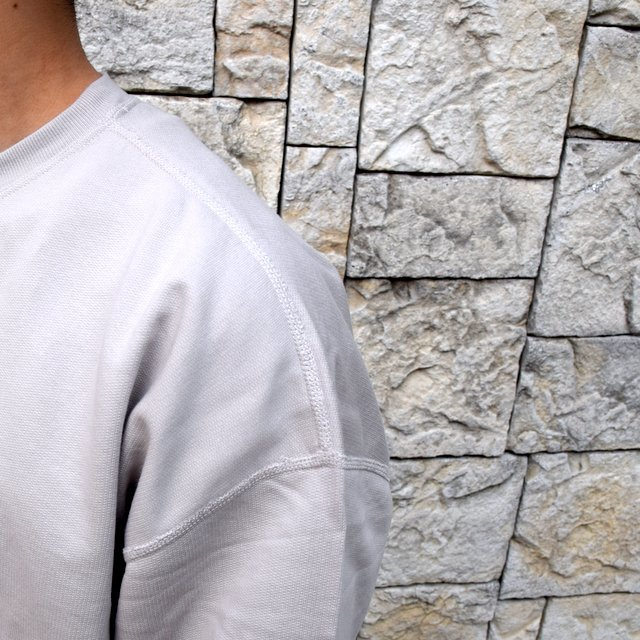 【2020 SS】AURALEE(オーラリー)/ SUPER SOFT SWEAT BIG P/O -GRAY- #A20SP02GU(6)