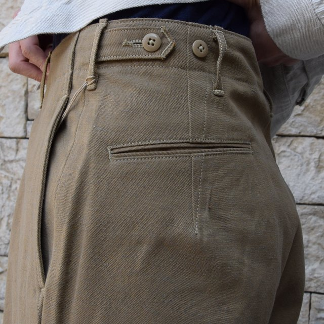 【2020 SS】KAPTAIN SUNSHINE / Wide Chino Trousers KS20SPT07(6)
