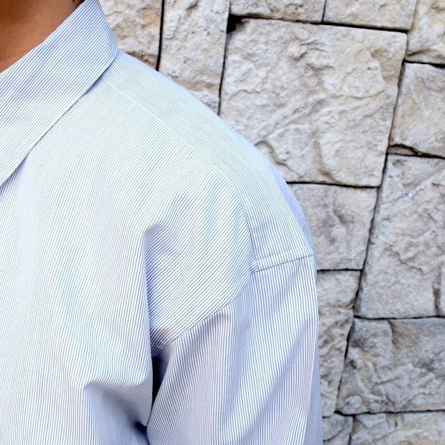 【2020】MAATEE&SONS(マーティーアンドサンズ)/REGULAR COLLAR SHIRT -GRAY- #MT0103-0601A(6)