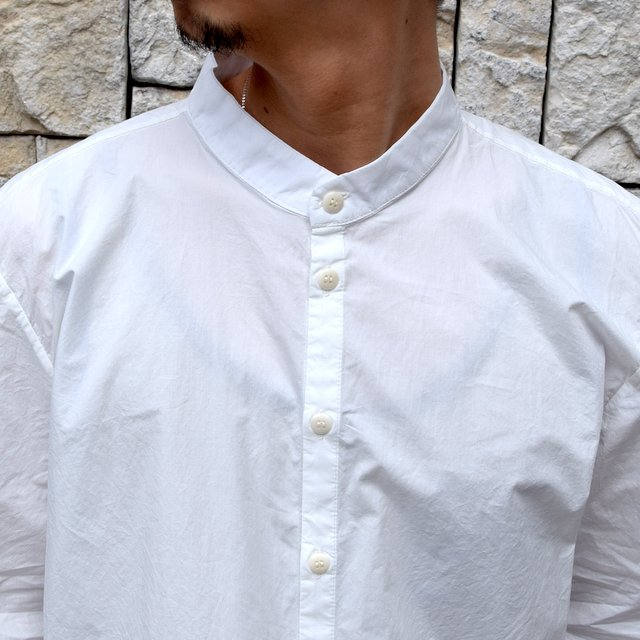 【2020 SS】 toogood(トゥーグッド)/ THE BOTANIST SHIRT POPLIN -CHALK- (6)