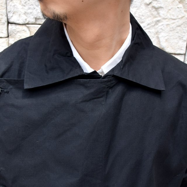 【2020】 toogood(トゥーグッド)/ THE CONDUCTOR COAT COTTON RIPSTOP -FLINT-(6)