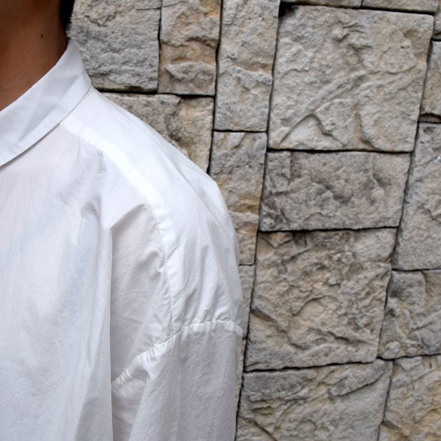 【2020】 toogood(トゥーグッド)/ THE DRAUGHTSMAN SHIRT POPLIN -CHALK- (6)