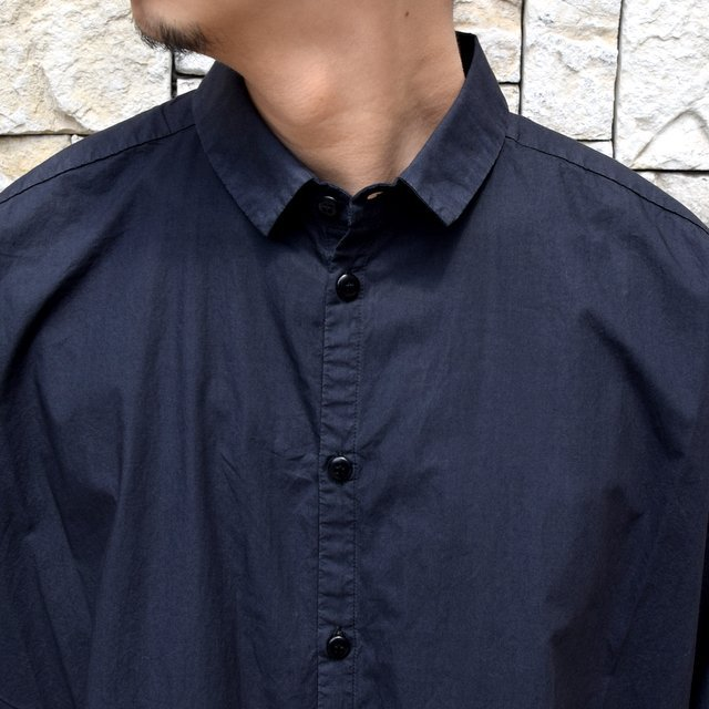 【2020】 toogood(トゥーグッド)/ THE DRAUGHTSMAN SHIRT POPLIN -FLINT- (6)