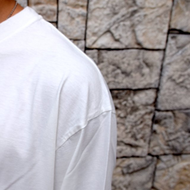 【2020】blurhms ROOTSTOCK(ブラームス) / SILK COTTON JERSEY L/S LOOSE FIT -OFF- #ROOTS-F206(6)