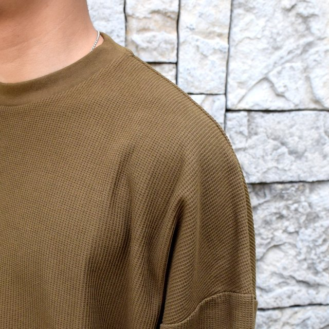 blurhms ROOTSTOCK(ブラームス) / Rough & Smooth Thermal -KHAKI BROWN-(6)