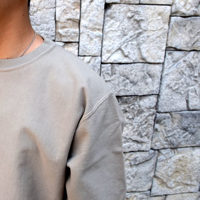 AURALEE(オーラリー) SUPER MILLED SWEAT P/O -KHAKI GRAY- A20AP02SM(6)
