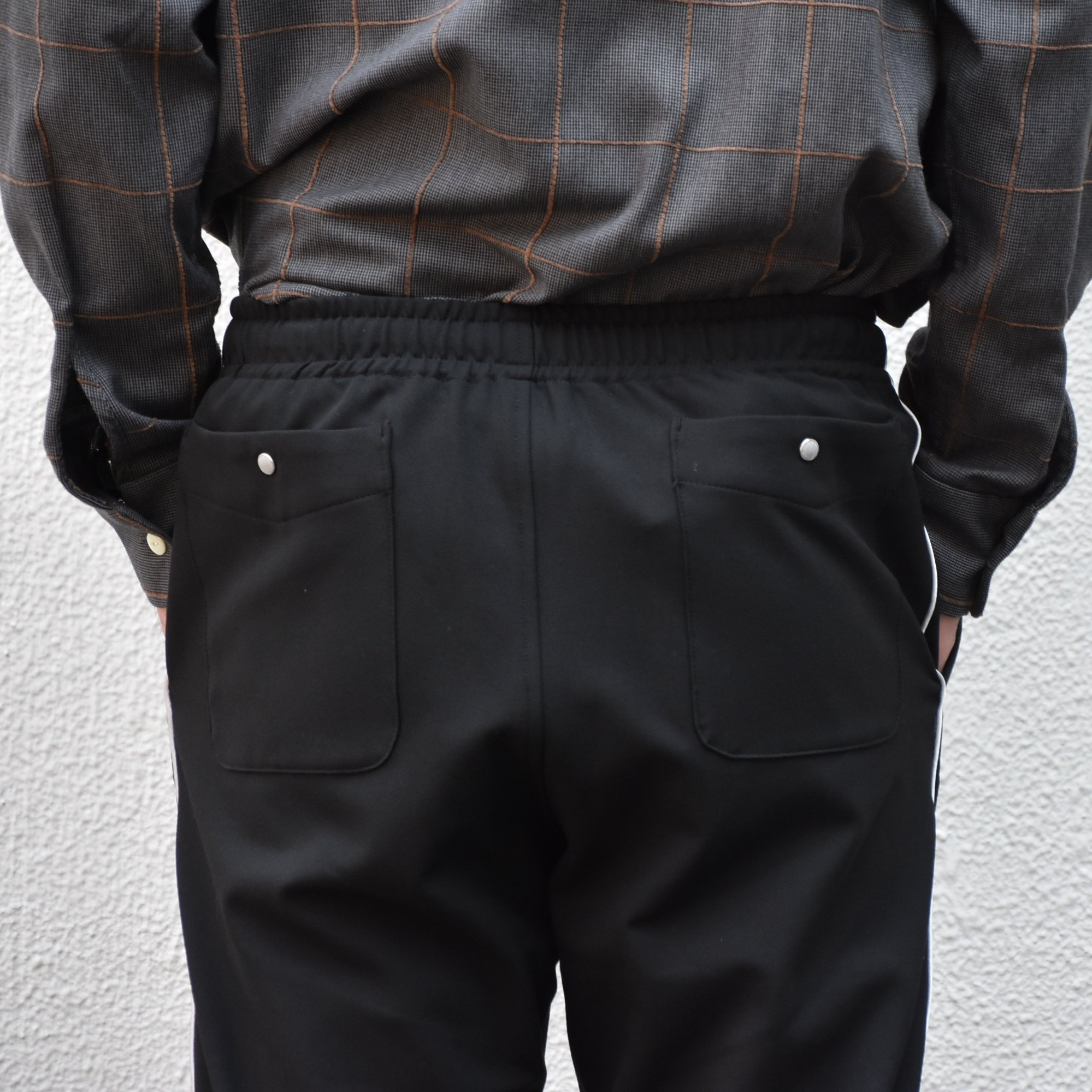 【2020】NEEDLES(ニードルス) Piping cowboy pants -BLACK- #HM-135(6)