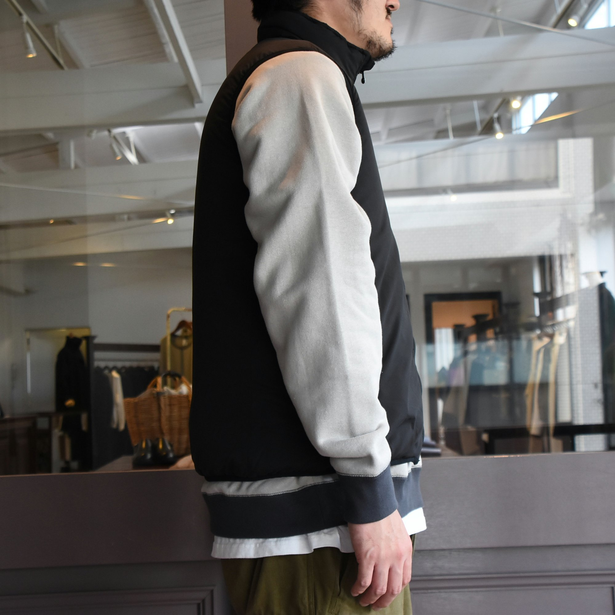 【2020】South2 West8(サウスツーウエストエイト)Insulator Vest-Peach Skin-BLACK- #HM813(6)