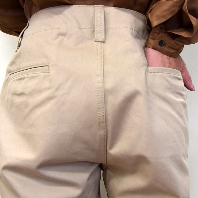 E. TAUTZ(イートウツ)/ FIELD TROUSER-BEIGE-  6311702009-BE(6)