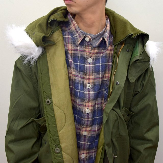 DEAD STOCK(デッドストック)/ US ARMY FISHTAIL PARKA -OLIVE- (6)