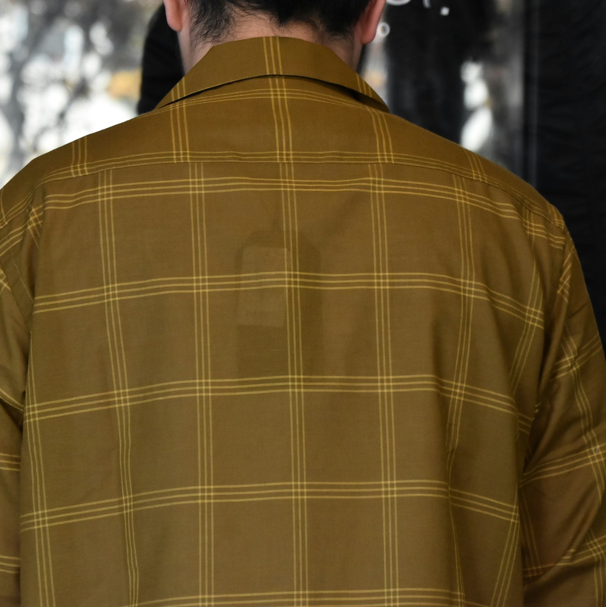 [2021]NEEDLES(ニードルス) C.O.B. ONE-UP SHIRT C/S PLAID -BROWN-#IN170(6)