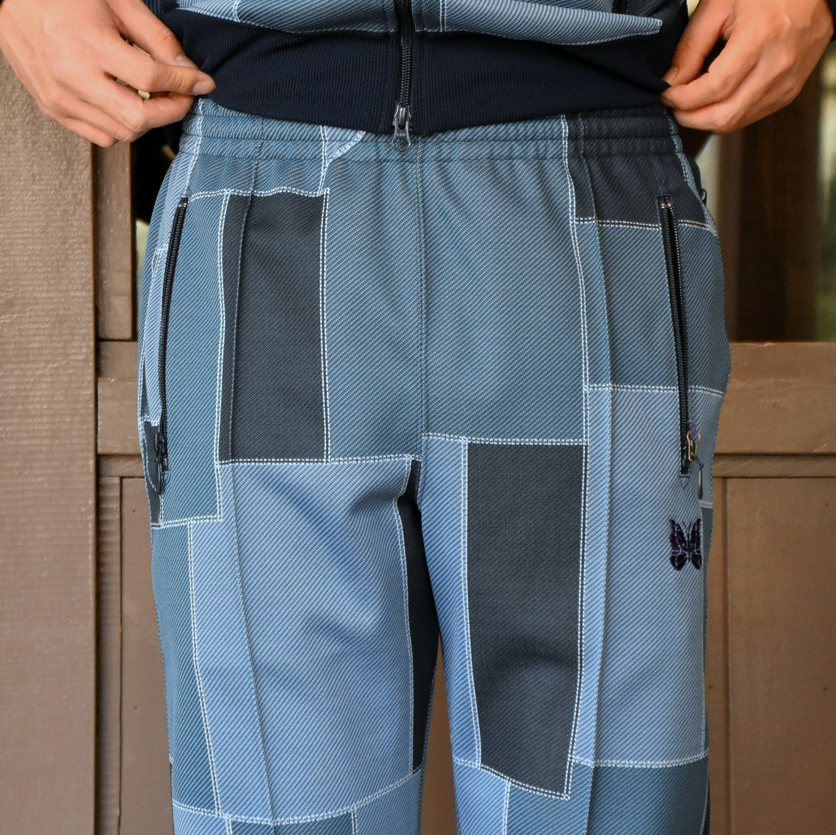 [2021]NEEDLES(ニードルス) TRACK PANT POLY JQ.-PATCHWORK- #IN198(6)