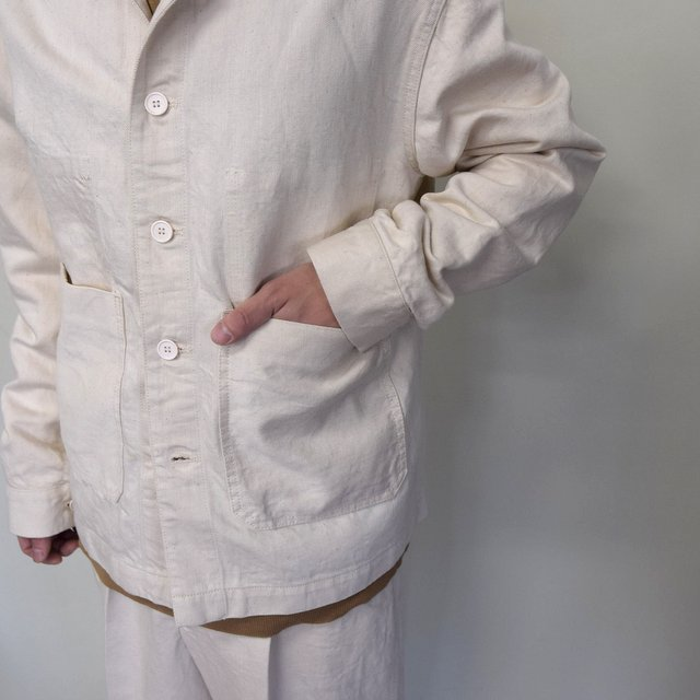 MARKAWARE(マーカウェア)/ WORK JACKET -WHITE- #A21A02BL01C(6)
