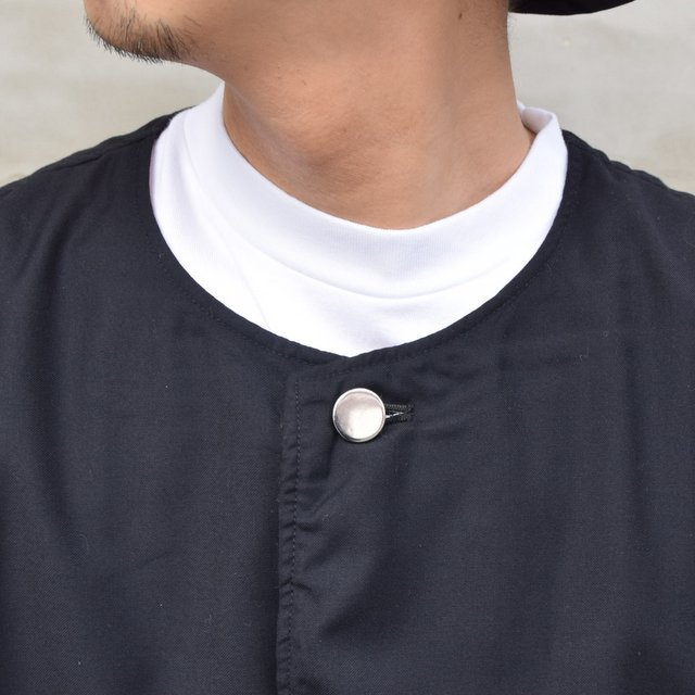 ISSUETHINGS(イシューシングス)/ NO COLLAR JACKET -2Color- #(6)