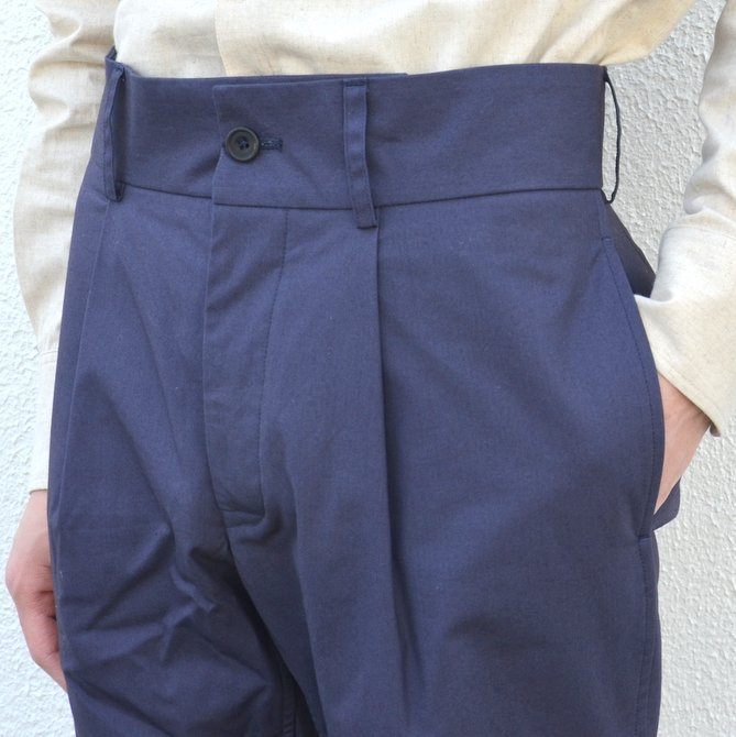 【40% off sale】S.E.H KELLY(エス・イー・エイチ・ケリー)/ NORTHERN IRISH SHOWER-PROOF COTTON STANDARD PANT -(39)NAVY- #5113036(7)