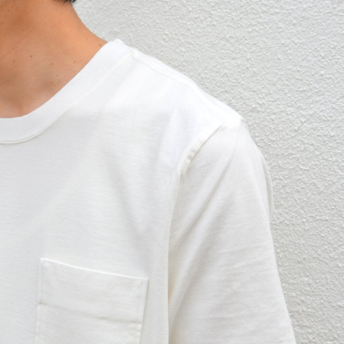 【17 SS】Curly(カーリー) BRIGHT SS POCKET TEE -2色展開- #172-04041(7)