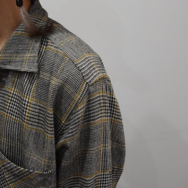 【30% OFF】 MOJITO(モヒート)/ ABSHINTH SHIRT Bar.2.0 -HOUNDS TOOTH (59)- #2094-1101(7)