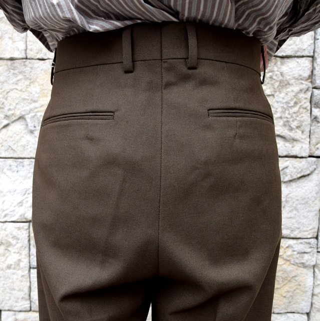 【2020 SS】NEAT(ニート)/ HOPSACK ''WIDE'' -KHAKI- #20-01HSW-KH(7)