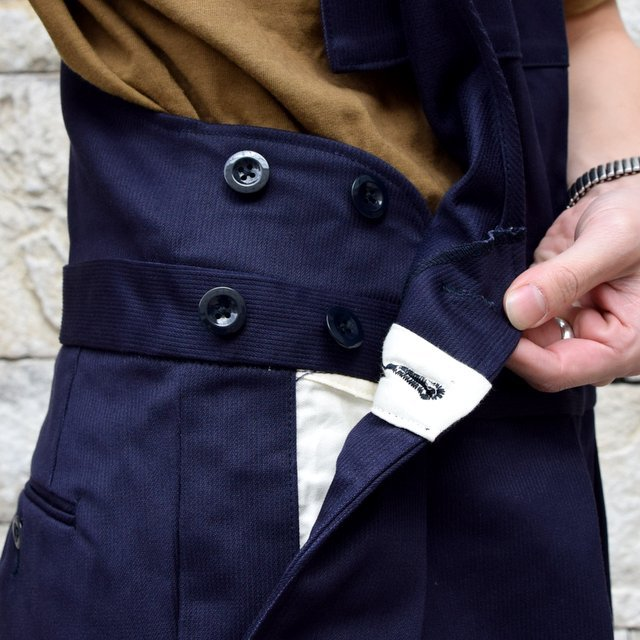 【2020 SS】NEAT(ニート)/ COTTON PIQUE ''OVERALL'' -NAVY- #20-01CPO-NV(7)