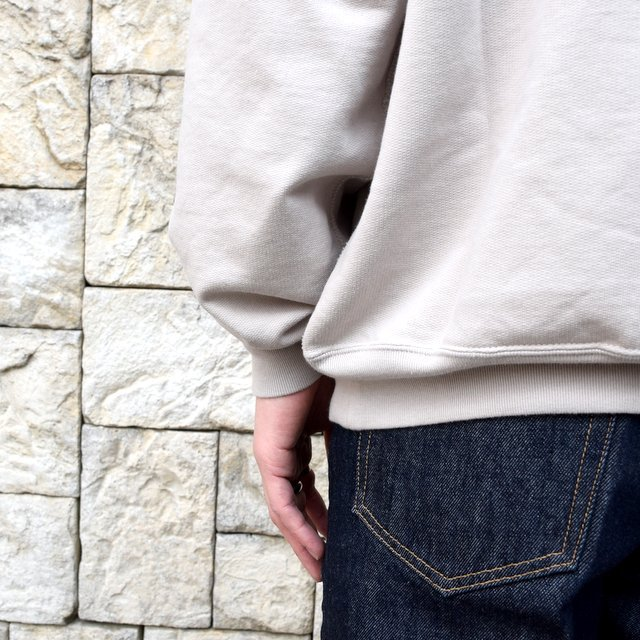 【2020 SS】AURALEE(オーラリー)/ SUPER SOFT SWEAT BIG P/O -GRAY- #A20SP02GU(7)