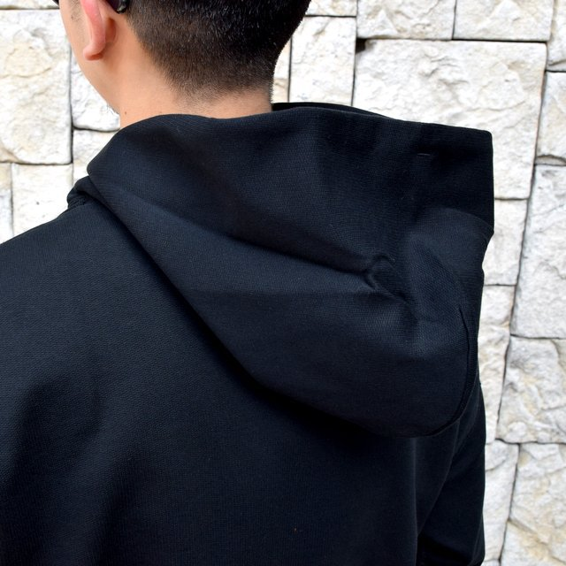 【2020 SS】AURALEE(オーラリー)/ SUPER SOFT SWEAT BIG P/O PARKA -BLACK- #A20SP01GU(7)