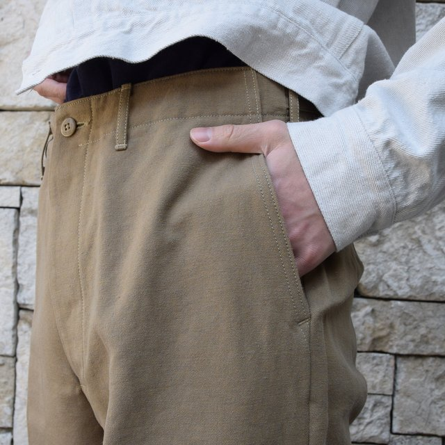 【2020 SS】KAPTAIN SUNSHINE / Wide Chino Trousers KS20SPT07(7)