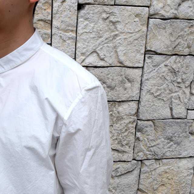 【2020 SS】 toogood(トゥーグッド)/ THE BOTANIST SHIRT POPLIN -CHALK- (7)