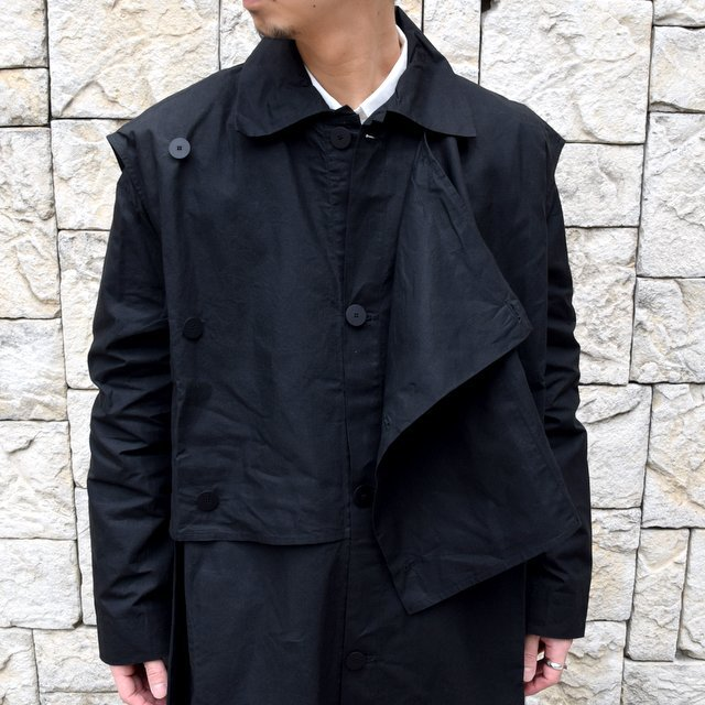 【2020】 toogood(トゥーグッド)/ THE CONDUCTOR COAT COTTON RIPSTOP -FLINT-(7)