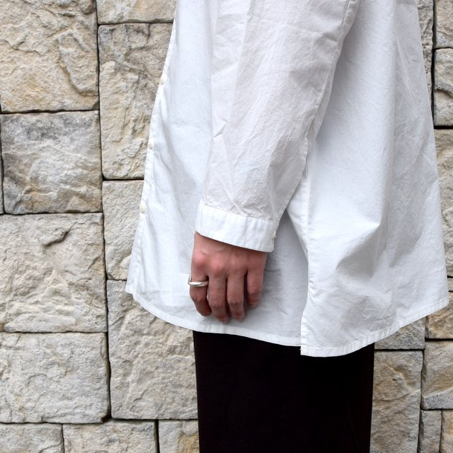 【2020】 toogood(トゥーグッド)/ THE DRAUGHTSMAN SHIRT POPLIN -CHALK- (7)