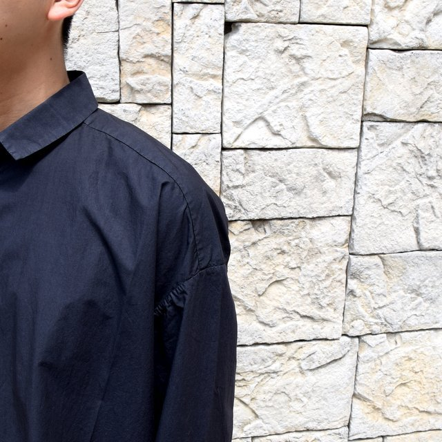 【2020】 toogood(トゥーグッド)/ THE DRAUGHTSMAN SHIRT POPLIN -FLINT- (7)