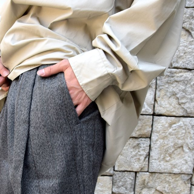 【2020】stein(シュタイン)/ WIDE TAPERED TROUSERS -HERRINGBONE- #ST178-2(7)
