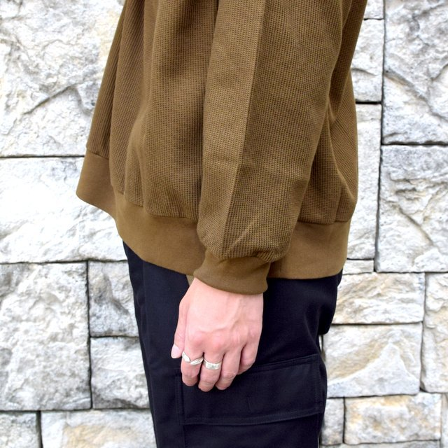 blurhms ROOTSTOCK(ブラームス) / Rough & Smooth Thermal -KHAKI BROWN-(7)