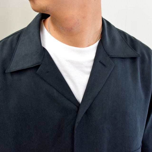 【2020】YOKE(ヨーク)/ BIG FLAP LONG SHIRTS -BLACK- #YK20AW0144SH(7)