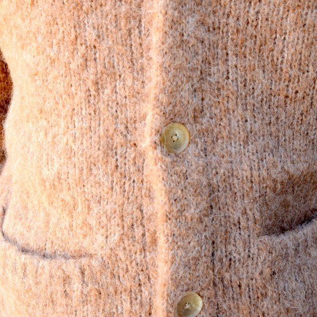 【2020】 AURALEE(オーラリー)/ ALPACA WOOL SUPER LIGHT KNIT BIG CARDIGAN -TOP BEIGE- #A20AC01AW(7)
